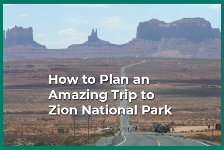 Trip to zion national park