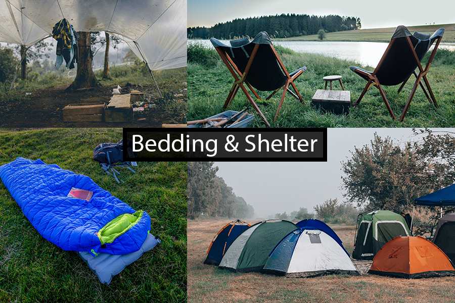 Bedding and Shelter