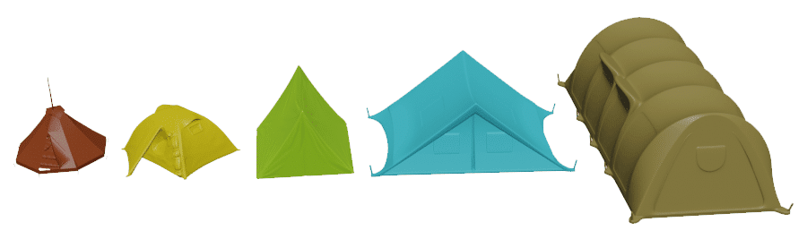 Camping Tent Sizes